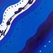 Blue Lace Art Print