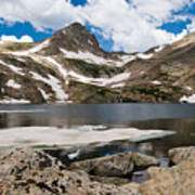 Blue Lake Colorado Art Print