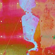 Blue Light Art Print by Eileen Shahbazian