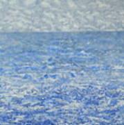Blue Majesty Art Print