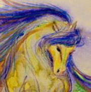 Blue Mane And Tail Art Print