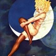 Blue Moon Silk Stockings Art Print