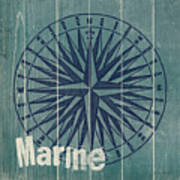 Blue Nautical-jp3616 Art Print