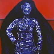 Blue Nun Target Art Print