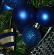 Blue Ornament Art Print