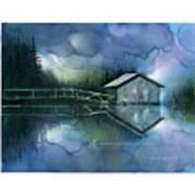Blue Rapsody Art Print