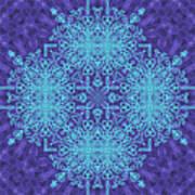 Blue Resonance Art Print