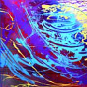 Blue Reverie Art Print by Mordecai Colodner