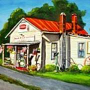 Blue Ridge Grocery Art Print