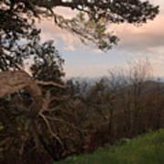 Blue Ridge Mts Art Print