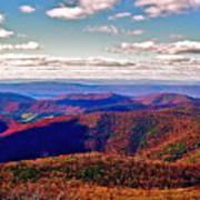 Blue Ridge Of Virginia Art Print