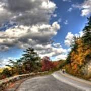Blue Ridge Parkway, Buena Vista Virginia 4 Art Print