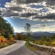 Blue Ridge Parkway, Buena Vista Virginia Art Print