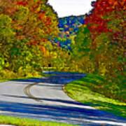 Blue Ridge Parkway Interpretation Art Print