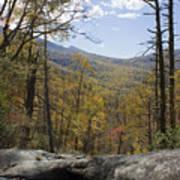 Blue Ridge View Art Print