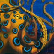 Blue Ringed Octopus Art Print