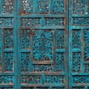 Blue Screens Art Print