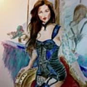Blue Secret Art Print