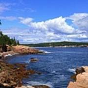 Blue Skies In Maine Art Print