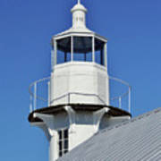 Blue Sky At The Lighthouse Art Print