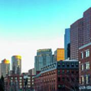 Blue Sky Boston Art Print