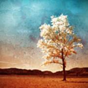 Blue Sky Dreams Art Print
