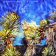 Blue Sky Yucca Art Print