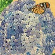 Blue Splendor Art Print