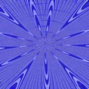 Blue Star Janca Abstract Art Print