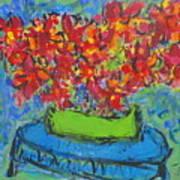 Blue Still Art Print