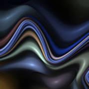 Blue Taffy Art Print