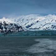 Blue Tidewater Glacier  Art Print