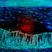 Blue Whale 2 Art Print