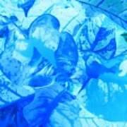 Blue Whisper Art Print