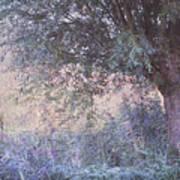 Blue Willow. Monet Style Art Print