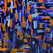 Blueberry Cobbler Art Print