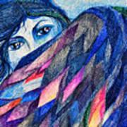 Bluebird Of Happiness. Art Print
