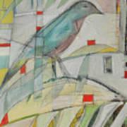 Bluebird Of Art Print