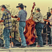 Bluegrass Evening Art Print