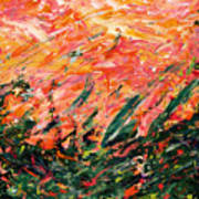 Bluegrass Sunrise - Desert B-right Art Print