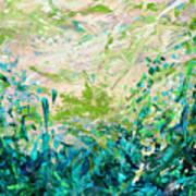 Bluegrass Sunrise - Jade A-left Art Print