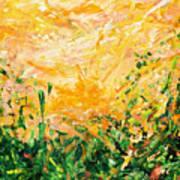 Bluegrass Sunrise - Lemon A-left Art Print