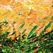 Bluegrass Sunrise - Lemon B-right Art Print