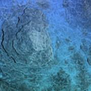 Bluepanel 16 Art Print