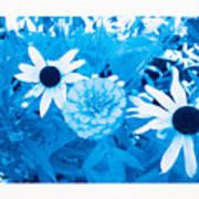 Blue's Art Art Print