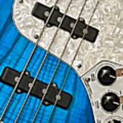 Blues Bass Art Print