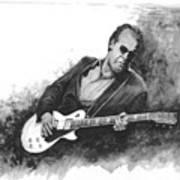 Blues Man Joe B. Art Print