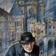 Blues Of Prague. Art Print