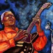 Blues Vibe Art Print