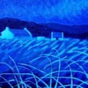 Bluescape Art Print